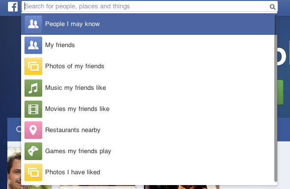 FB's Search
