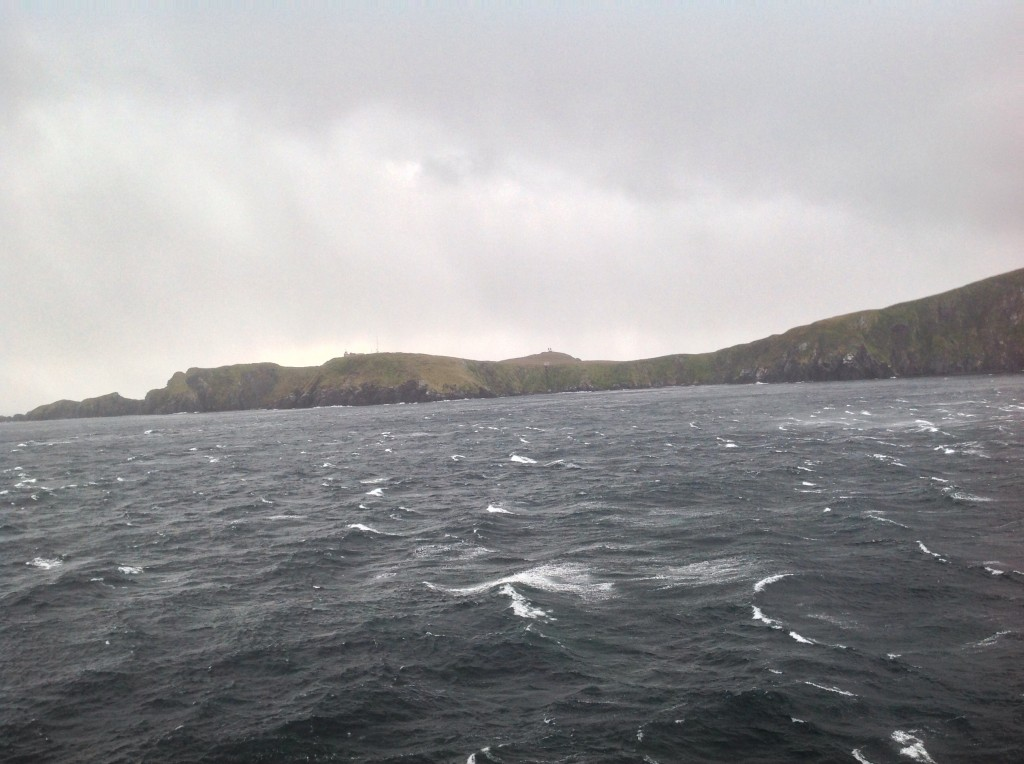 Shoreline of Cape Horn.