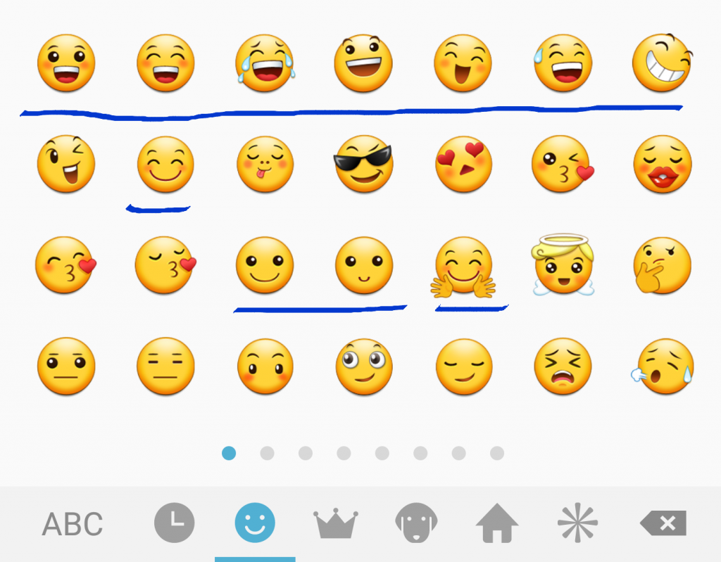 Emoji options